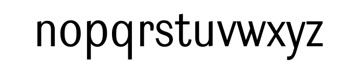 Ludwig Condensed Light Font LOWERCASE