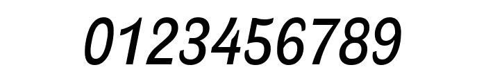 Ludwig Condensed Normal Italic Font OTHER CHARS