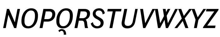 Ludwig Condensed Normal Italic Font UPPERCASE