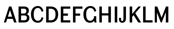 Ludwig Condensed Normal Font UPPERCASE