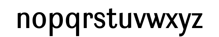Ludwig Condensed Normal Font LOWERCASE