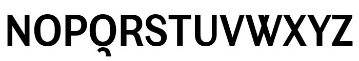 Ludwig Condensed SemiBold Font UPPERCASE