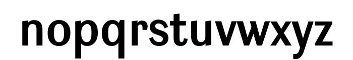 Ludwig Condensed SemiBold Font LOWERCASE