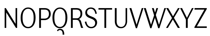 Ludwig Condensed Thin Font UPPERCASE