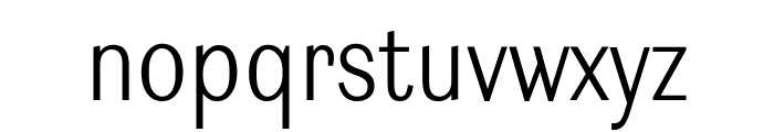 Ludwig Condensed Thin Font LOWERCASE
