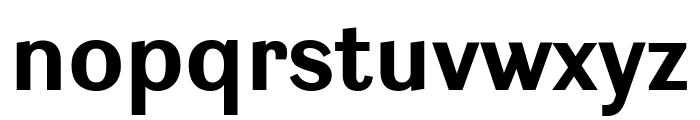 Ludwig SemiCondensed Bold Font LOWERCASE