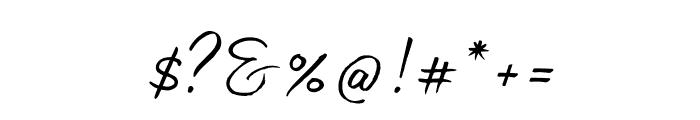 Madelyn Fill Regular Font OTHER CHARS