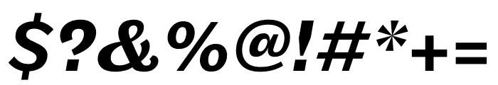 Maple Medium Italic Font OTHER CHARS