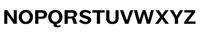 Maple Medium Font UPPERCASE