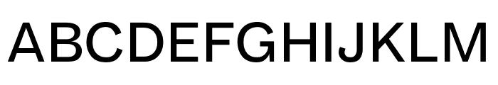 Maple Regular Font UPPERCASE