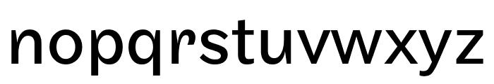 Maple Regular Font LOWERCASE
