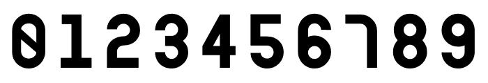 Modula Mono Font OTHER CHARS