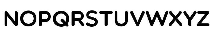 Multicolore Regular Font UPPERCASE