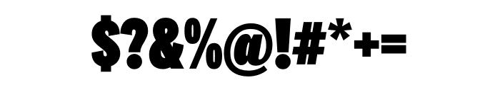 National 2 Compressed Black Font OTHER CHARS