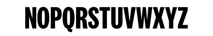National 2 Compressed Bold Font UPPERCASE