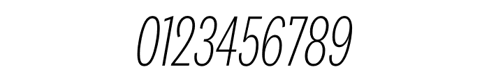 National 2 Compressed Extralight Italic Font OTHER CHARS