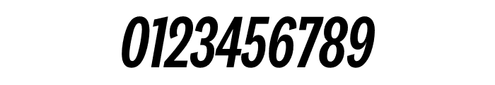 National 2 Compressed Medium Italic Font OTHER CHARS