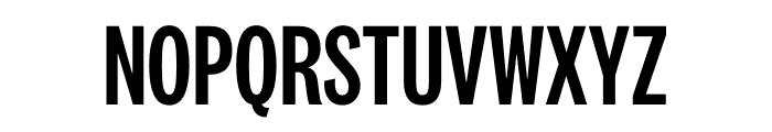 National 2 Compressed Medium Font UPPERCASE