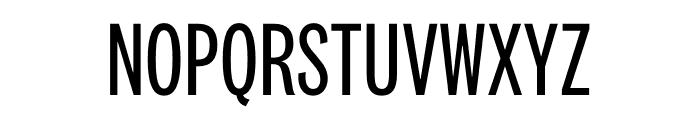 National 2 Compressed Regular Font UPPERCASE