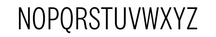 National 2 Condensed Light Font UPPERCASE