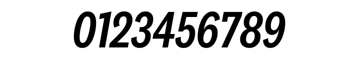 National 2 Condensed Medium Italic Font OTHER CHARS