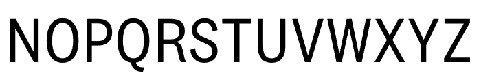 National 2 Narrow Regular Font UPPERCASE