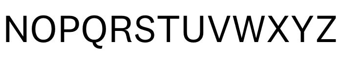 National 2 Regular Font UPPERCASE