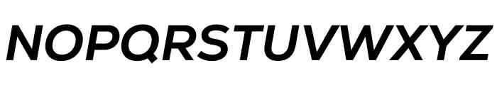 Nexa Extra Bold Italic Font UPPERCASE