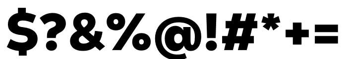 Nexa Text Black Font OTHER CHARS