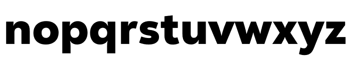 Nexa Text Black Font LOWERCASE