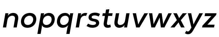 Nexa Text Bold Italic Font LOWERCASE