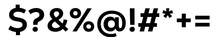 Nexa Text Extra Bold Font OTHER CHARS