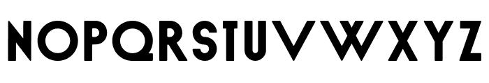 Nord Regular Font UPPERCASE