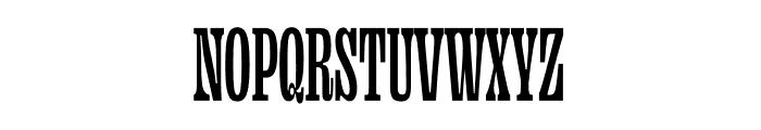 Ohno Fatface Variable Font UPPERCASE