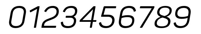 Panton Regular Italic Font OTHER CHARS