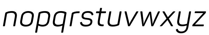 Panton Regular Italic Font LOWERCASE