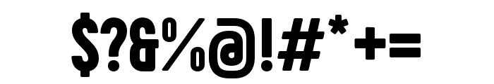 Phenomena Black Font OTHER CHARS