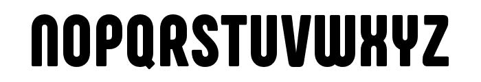 Phenomena Black Font UPPERCASE
