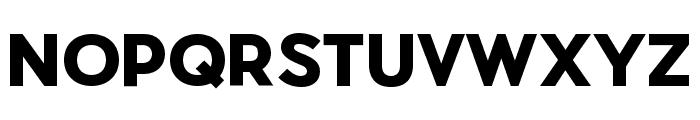 Pier Sans Black Font UPPERCASE