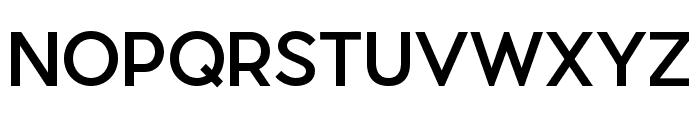 Pier Sans Medium Font UPPERCASE