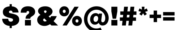 Radial Linear Sans Linear Sans Font OTHER CHARS