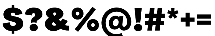 Radial Linear Sans Radial Font OTHER CHARS