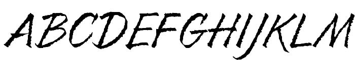 Resphekt Regular Font UPPERCASE