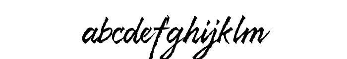 Resphekt Regular Font LOWERCASE