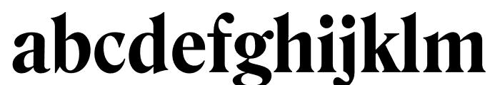 Roslindale Deck Narrow Bold Font LOWERCASE
