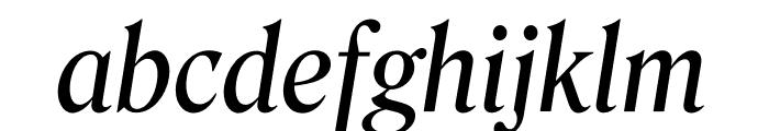 Roslindale Deck Narrow Italic Font LOWERCASE