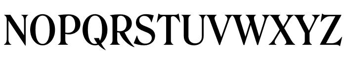 Roslindale Deck Narrow Medium Font UPPERCASE