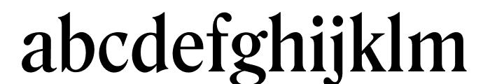 Roslindale Deck Narrow Medium Font LOWERCASE
