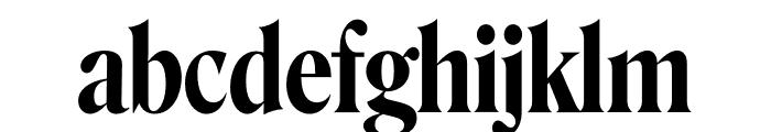 Roslindale Display Condensed Semi Bold Font LOWERCASE