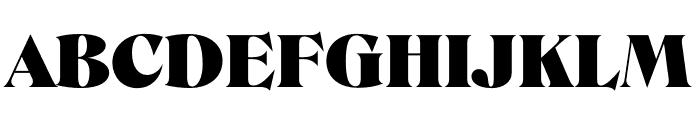 Roslindale Display Ultra Font UPPERCASE